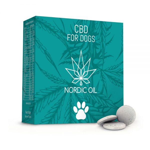 NordicOil CBD Tabletter til Hunde